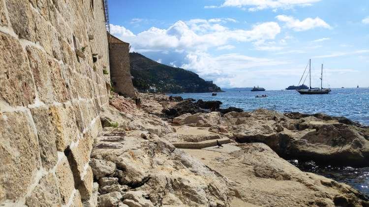 Au pieds des lazarets à Dubrovnik