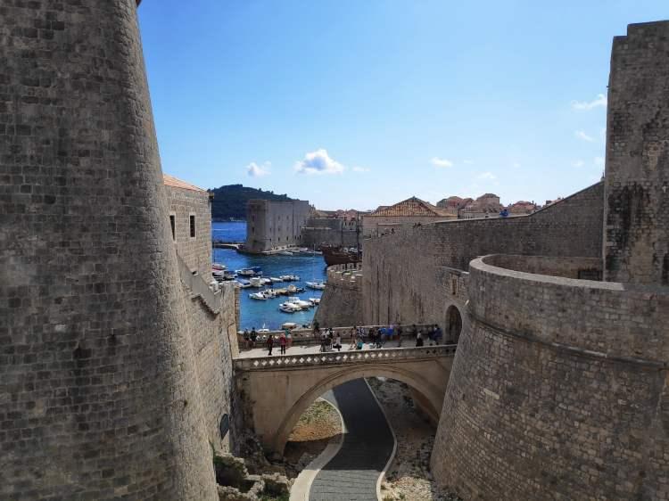 Porte Ploce à Dubrovnik