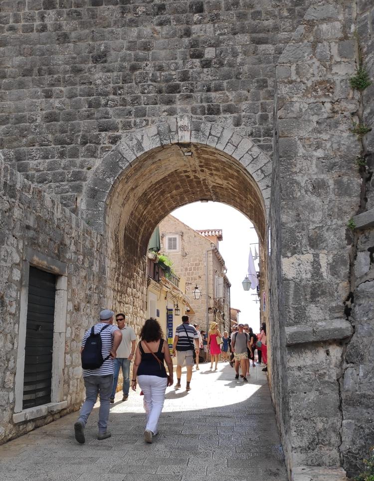Porte Buza à Dubrovnik