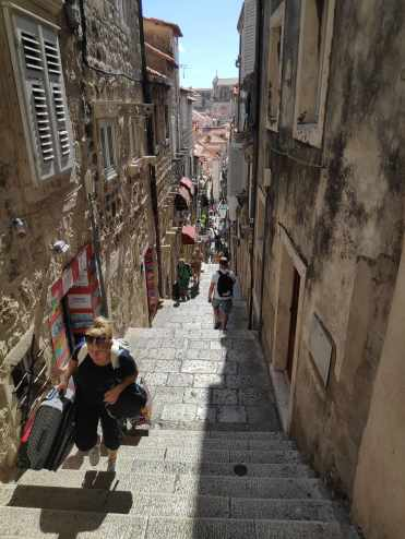 Escaliers à Dubrovnik