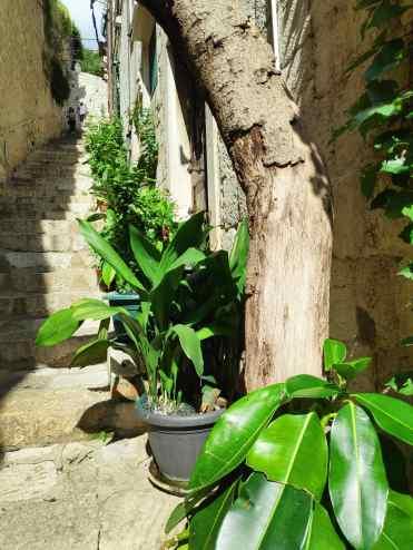 Dédale de ruelles à Dubrovnik