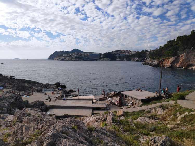 Baie de Dance à Dubrovnik