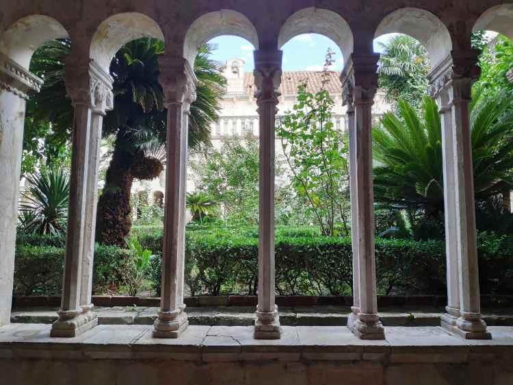 Monastère franciscain à Dubrovnik. Franjevacki samostan.