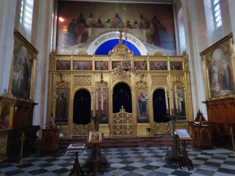 Eglise orthodoxe à Dubrovnik