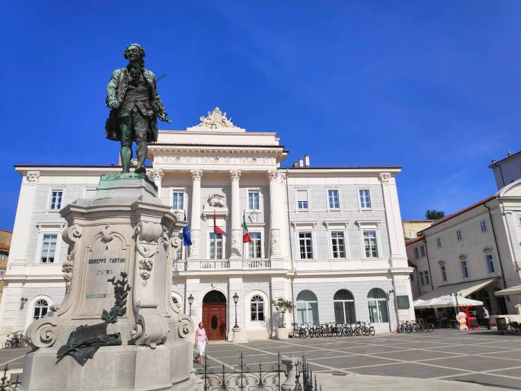 Place Tartini, Piran, Slovénie