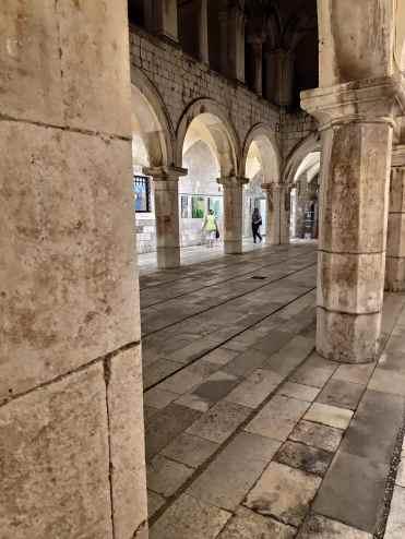 Le Palais Sponza à Dubrovnik