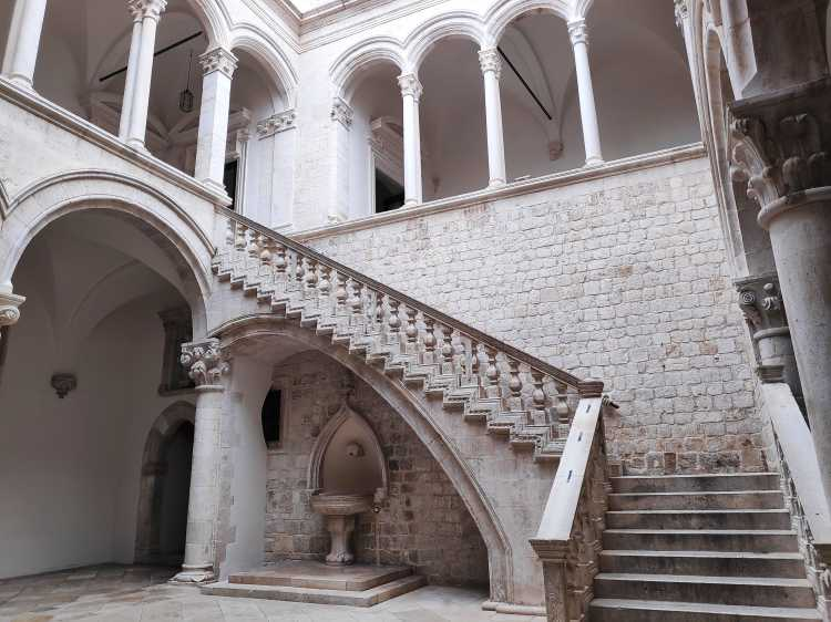 Palais du recteur à Dubrovnik