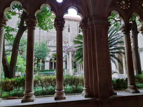 Monastère dominicain de Dubrovnik en Croatie