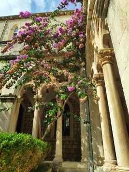 Monastère dominicain à Dubrovnik en Croatie