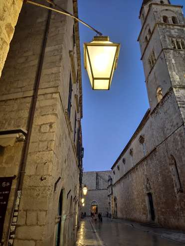 Stradun, Dubrovnik, Croatie