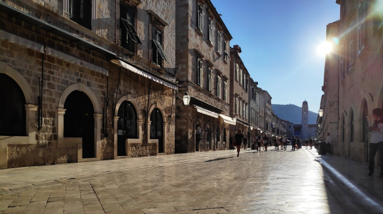 Stradun, rue centrale de Dubrovnik