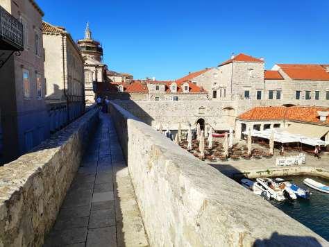 Sur la muraille de Dubrovnik