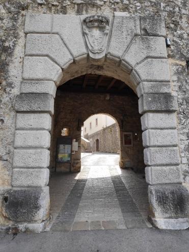 L'entrée de Stanjel