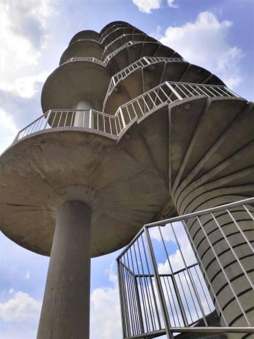 La tour de Gonjace près de Smartno en Slovénie