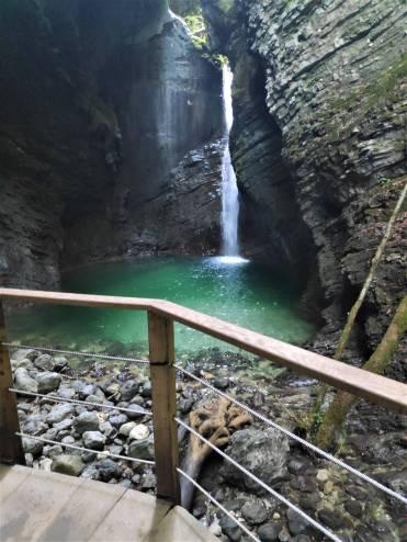 Cascade de Kozjak, Slovénie