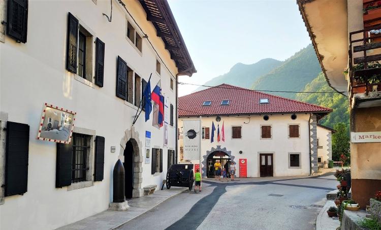 Kobarid. Slovénie