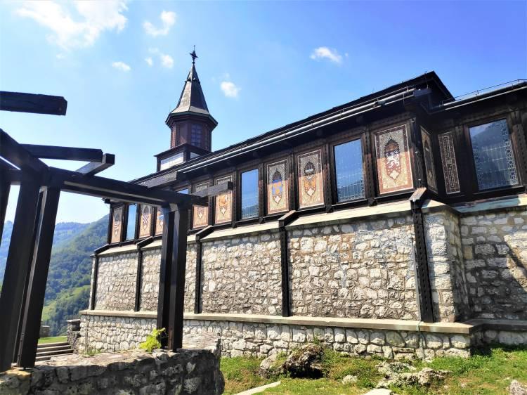 Église de Javorca, Vallée de la Soca, Slovénie