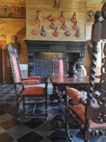 Décoration et mobilier au Château de Modave