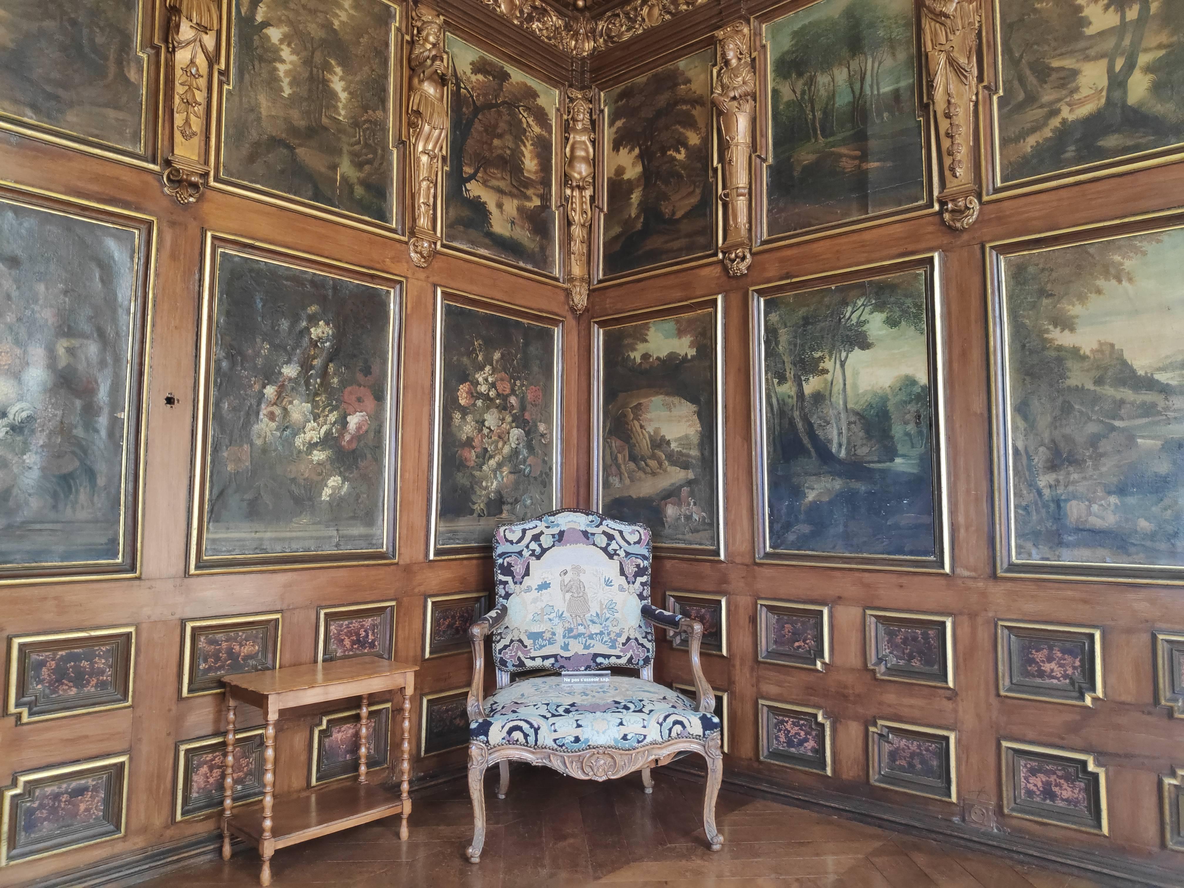 A l'intérieur du Château de Modave