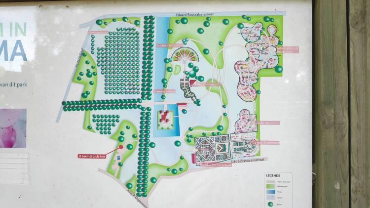 Plan du domaine de Coloma